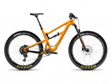 "2018 Santa Cruz Hightower 27.5""+ Carbon Fiber Suspension Frame - Orange/White/Blue"