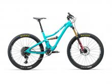 "2016/2017/2018 Yeti SB5 Beti 27.5"" Carbon Fiber Suspension Frame - Teal/Black"