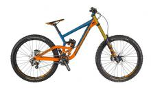"2016/2017/2018 Scott Gambler 710 27.5""/26"" Aluminium Suspension Frame - Orange/Blue"