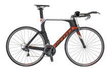 2017/2018 Scott Plasma 10 700C Carbon Fiber Rigid Frame - Black/Orange/White