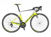 2017/2018 Scott Foil 30 700C Carbon Fiber Rigid Frame - Yellow/White/Black