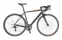 2017/2018 Scott Speedster 10 700C Aluminium Rigid Frame - Grey/Black/Orange