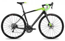 2017 Norco Search C Ultegra 700C Carbon Fiber Rigid Frame - Black/Green