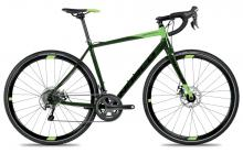 2017 Norco Search A Tiagra 700C Aluminium Rigid Frame - Black/Green