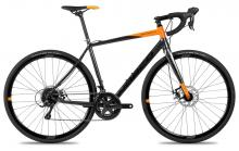 2017 Norco Search A Sora 700C Aluminium Rigid Frame - Black/Orange