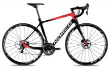 2017 Norco Valence SL Disc C Ultegra 700C Carbon Fiber Rigid Frame - Black/Red