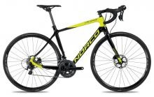 2017 Norco Valence Disc C 105 700C Carbon Fiber Rigid Frame - Black/Neon Green