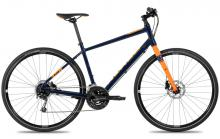 2017 Norco Indie 1 700C Aluminium Rigid Frame - Black/Orange