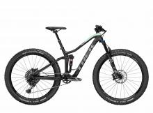 "2017/2018 Trek Fuel EX 9.8 Plus WSD 27.5""+ Carbon Fiber/Aluminium Suspension Frame - Black/Teal"