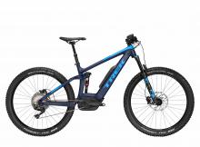 "2018 Trek Powerfly FS 8 LT 27.5""+ Aluminium Suspension Frame - Blue"