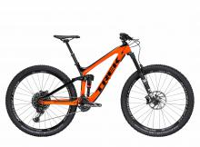 "2017/2018 Trek Slash 9.8 29"" Carbon Fiber/Aluminium Suspension Frame - Black/Orange"