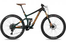 "2017 Norco Range 9.1 C 29"" Carbon Fiber Suspension Frame - Black/Green/Orange"