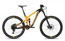 "2017 Norco Range 7.3 A 27.5"" Aluminium Suspension Frame - Black/Orange"