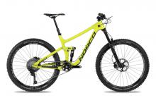 "2017 Norco Sight 7.2 C 27.5"" Carbon Fiber Suspension Frame - Yellow"