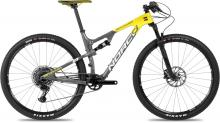 "2017 Norco Revolver 9.1 29"" Carbon Fiber Suspension Frame - Grey/Yellow"