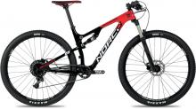 "2017 Norco Revolver 9.3 29"" Carbon Fiber Suspension Frame - Black/Red"