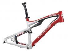 "2011 Specialized Epic FSR 26"" Aluminium Suspension Frame - Red/White"