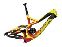 "2012 Specialized Demo 8 26"" Aluminium Suspension Frame - Black/Red/Yellow"