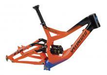 """2012 Specialized Demo 8 26"""" Aluminium Suspension Frame - Orange/Black/Blue"""