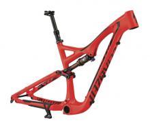 "2015 Specialized Stumpjumper EVO FSR 27.5"" Carbon Fiber/Aluminium Suspension Frame - Red/Black"