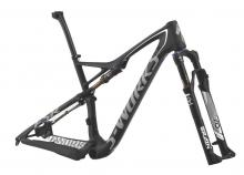 "2015 Specialized Epic S-Works FSR 29"" Carbon Fiber Suspension Frame - Black/White"