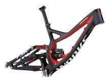 "2013 Specialized Demo 8 S-Works 26"" Carbon Fiber/Aluminium Suspension Frame - Black/Red"