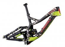 "2013 Specialized Demo 8 S-Works 26"" Carbon Fiber/Aluminium Suspension Frame - Black/Neon Green/Red"