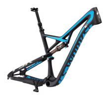 "2015 Specialized Camber S-Works 29"" Carbon Fiber/Aluminium Suspension Frame - Black/Blue"