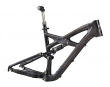 "2011 Specialized Enduro S-Works 26"" Carbon Fiber/Aluminium Suspension Frame - Black/Brown"