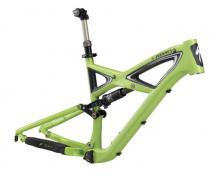 "2011 Specialized Enduro S-Works 26"" Carbon Fiber/Aluminium Suspension Frame - Green"