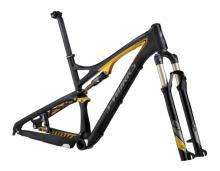 """2012 Specialized Epic S-Works FSR 29"""" Carbon Fiber Suspension Frame - Black/Yellow"""