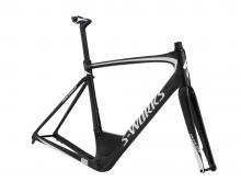 2018 Specialized Roubaix S-Works 700C Carbon Fiber Rigid Frame - Black/White