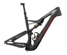 "2016 Specialized Stumpjumper S-Works FSR 27.5"" Carbon Fiber/Aluminium Suspension Frame - Black/Red"