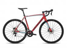2018 Specialized Crux Sport E5 700C Aluminium Rigid Frame - Red/Grey