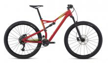 """2017 Specialized Camber 29"""" Aluminium Suspension Frame - Red/Neon Green"""