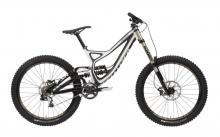 "2013 Specialized Demo 8 I 26"" Carbon Fiber/Aluminium Suspension Frame - Black/White"
