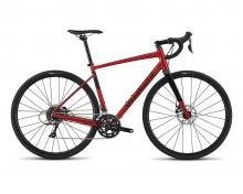 2018 Specialized Diverge E5 700C Aluminium Rigid Frame - Red/Black