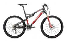 "2010 Specialized Epic S-Works FSR 26"" Carbon Fiber Suspension Frame - Black/Red/White"