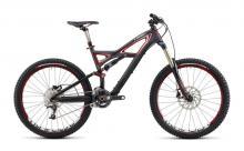 """2011 Specialized Enduro S-Works 26"""" Carbon Fiber/Aluminium Suspension Frame - Black/Red"""