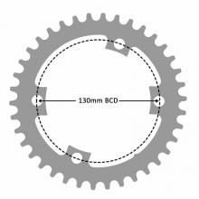 4 bolt - 130 bcd Asymmetric