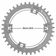 4 bolt - 96 bcd Asymmetric