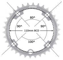 5 bolt - 110 bcd ABS