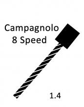 Shift Cable Pull - Campagnolo 8spd 1.4