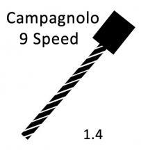 Shift Cable Pull - Campagnolo 9spd 1.4