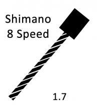 Shift Cable Pull - Shimano 8psd 1.7